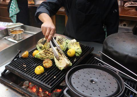 groente op de grill